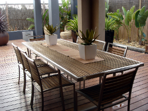 outdoor decking