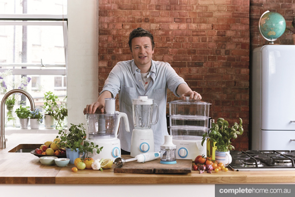 Jamie Oliver chef kitchen interview