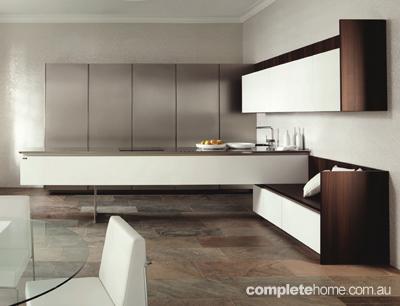 5 hot kitchen design ideas completehome for Laminex kitchen designs