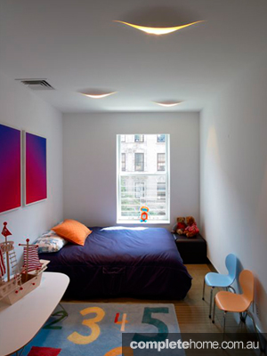 NY townhouse kids bedroom