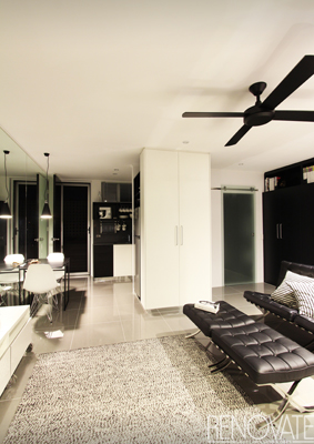Real home cramped studio apartment turned luxury pad for 40m apartment design