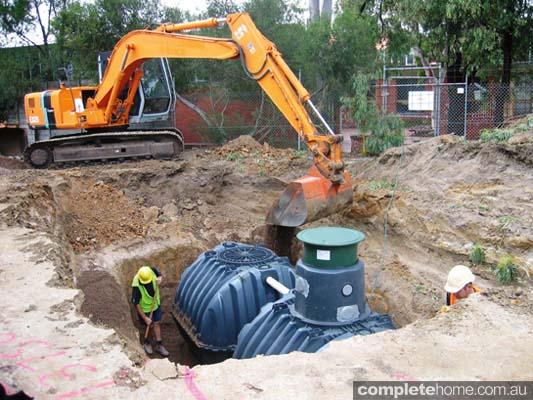 GRAF underground water tank