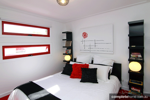 Grand Designs art house bedroom 1