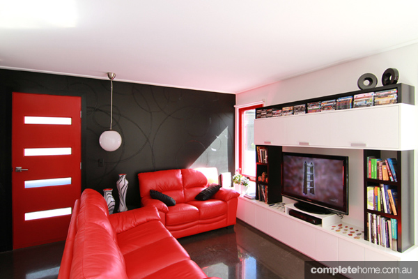 Grand Designs art house lounge room