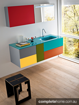 bathroom wellness multicolour