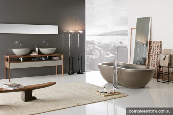 bathroom wellness neutral