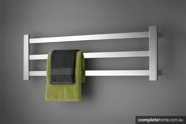 Avenir Hybrid towel rail bathroom heating solution from Avenir