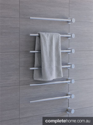 Heated towel rail from Vola