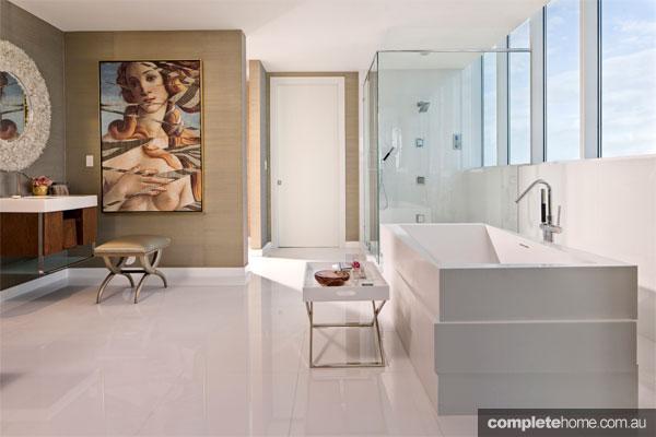 Askew bathroom design from Kohler