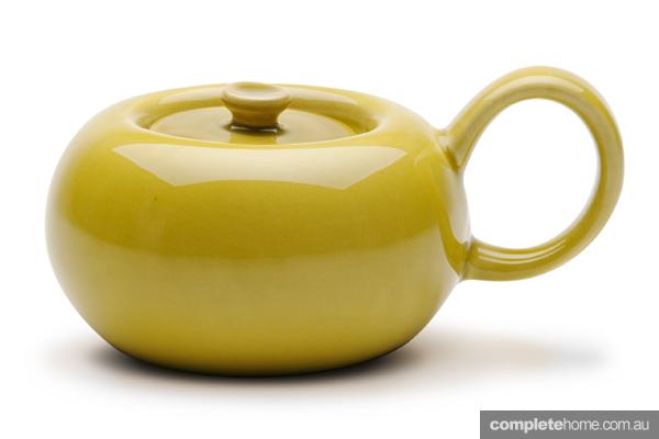 midcentury modern sugar bowl