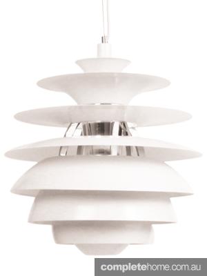 midcentury modern snowball light