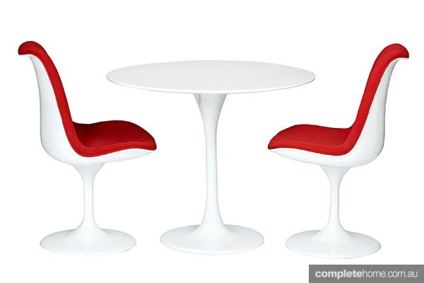 midcentury modern tulip chair