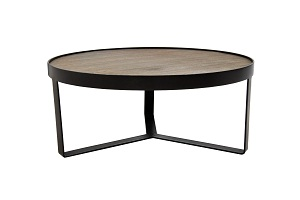 5. black ALL Marseille round Coffee Table (ALL3684) $990