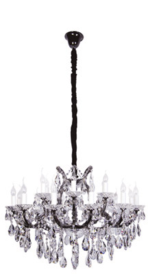 6. black Beacon Vivienne 18 Light Chandelier $3,995