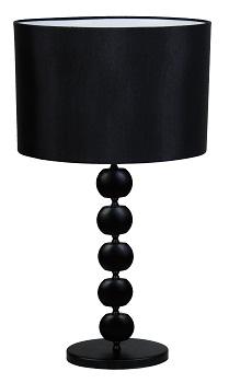 9. black Beacon 260431 BETTY 1LT BASE AND SHADE BLACK