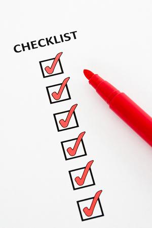 bigstock-Checklist-4333245