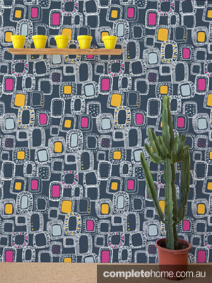 Shapes and Squares wallpaper by Rachael Taylor