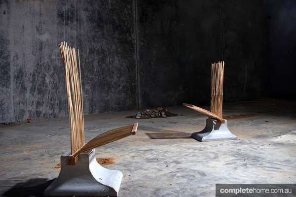 2. The P2 and P1 chairs, from designer Christel Hadiwibawa