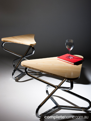 4. The tilt, which comes as a stool or a coffee table, from designer Christel Hadiwibawa