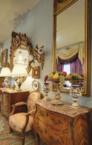 Collecting French Antiques - Living Room Ideas