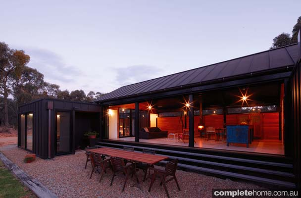 Grand Designs Kooroork Camping patio