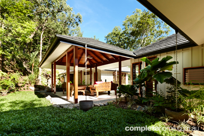 Grand designs australia trinity pole house completehome Pavilion style house plans