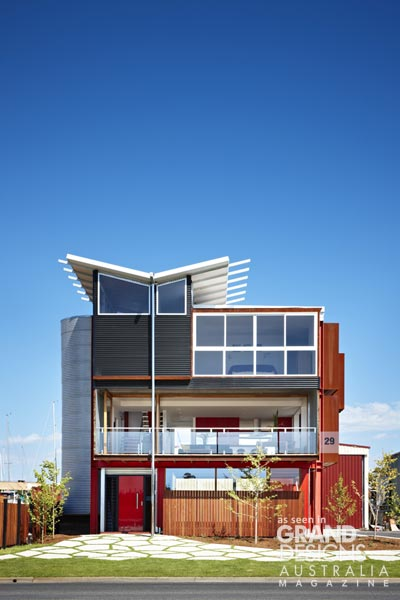 Grand designs australia paynesville industrial house for Grand design homes