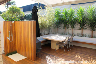 How to create an outdoor room completehome - How to build an outdoor kitchen a practical terrace ...