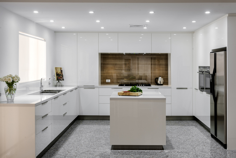 Seamless modern kitchen style completehome for Modern kitchen design australia