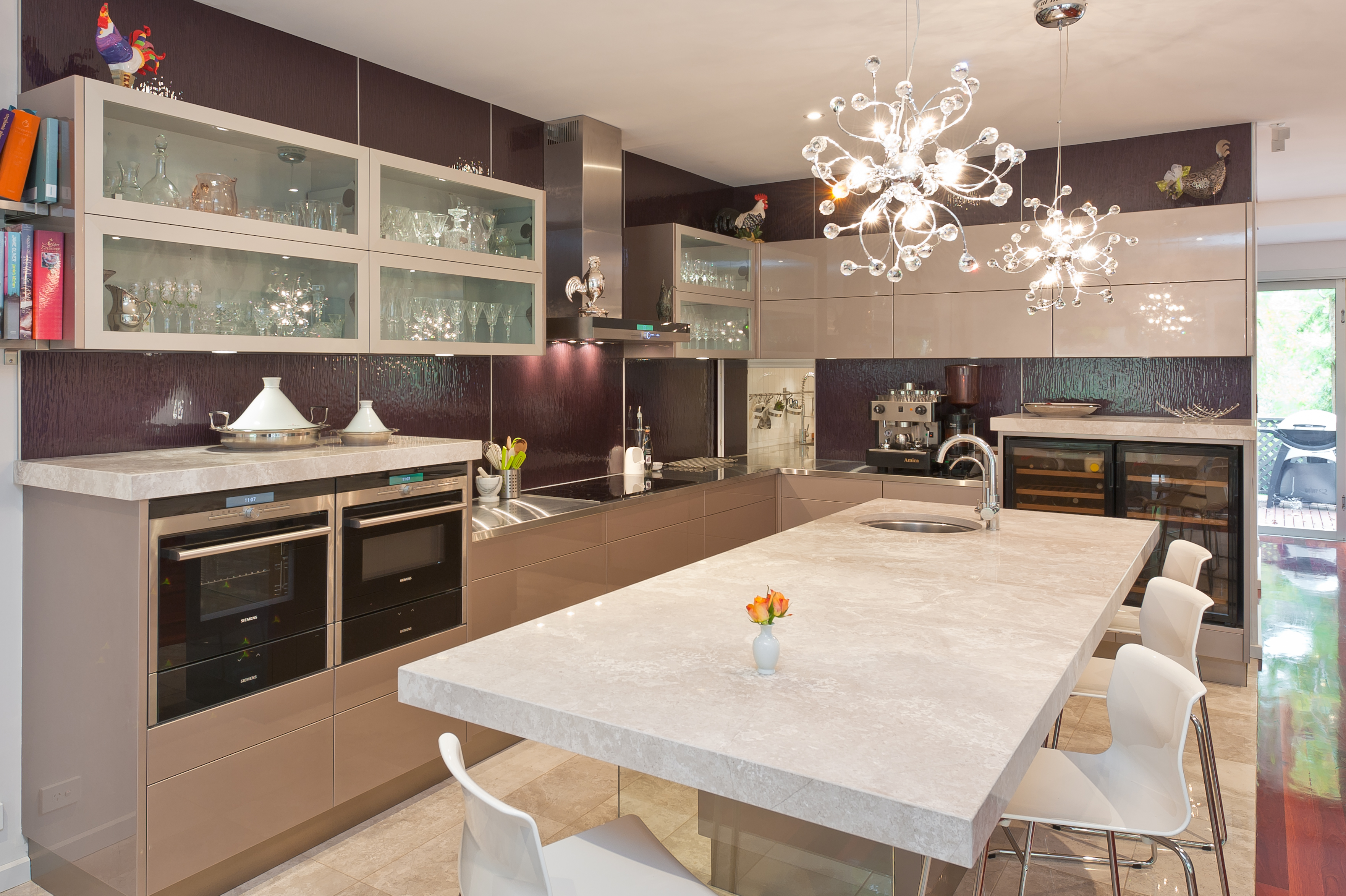 Innovative kitchen perfect for entertaining completehome for Kitchen designs australia