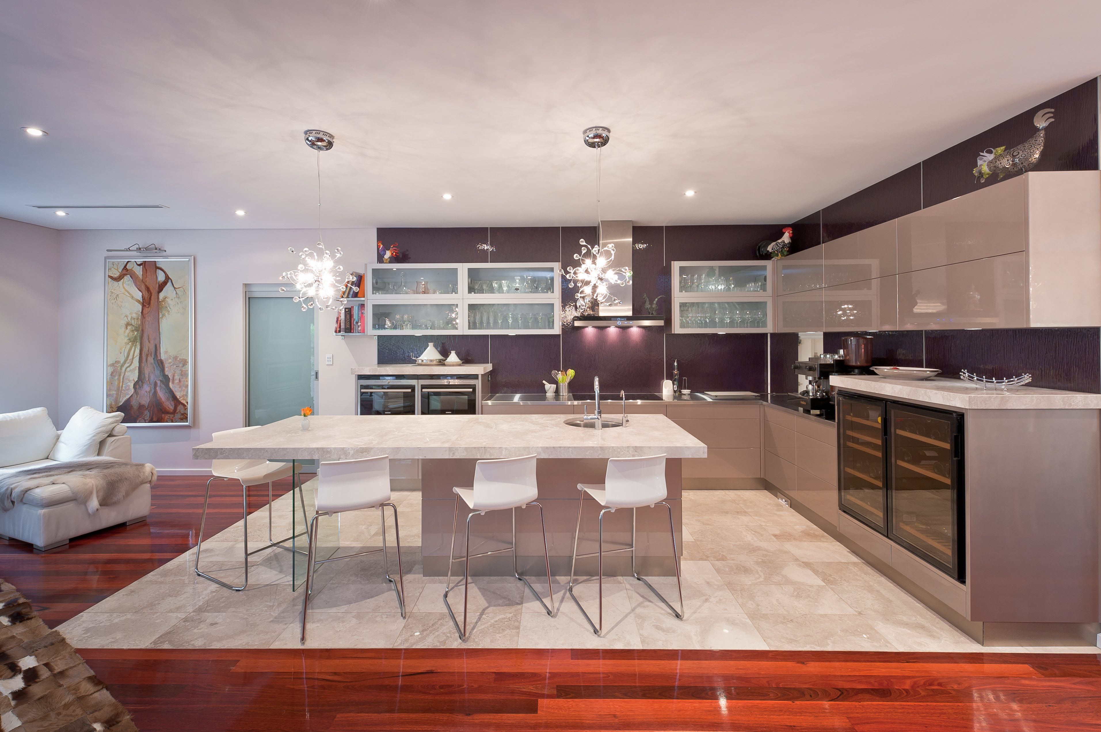 innovative kitchen: perfect for entertaining - completehome