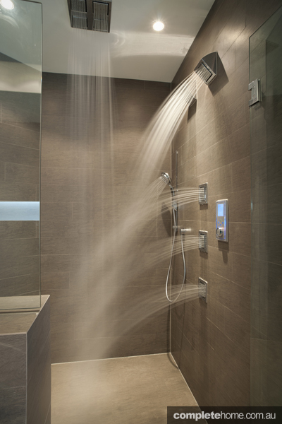 Kohler spa shower