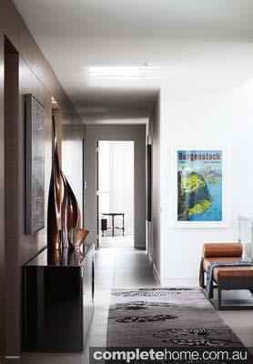 Toorak house - Modern hallway