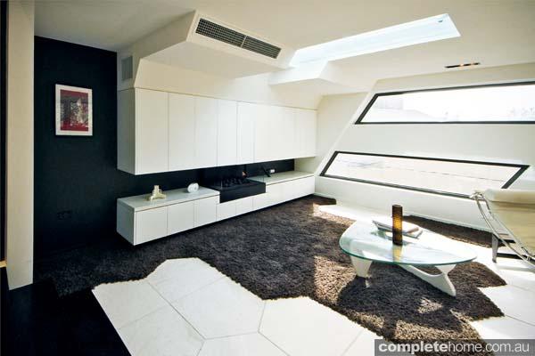Compact, concrete living