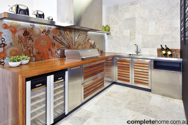 The great outdoors completehome for Outdoor kitchen australia