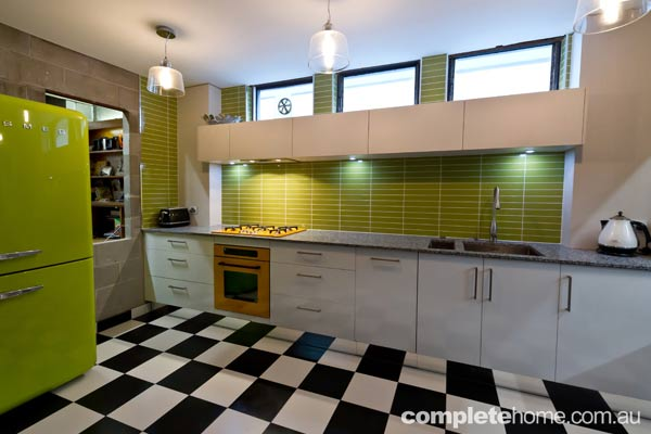 Mint Kitchens Funky Kitchen