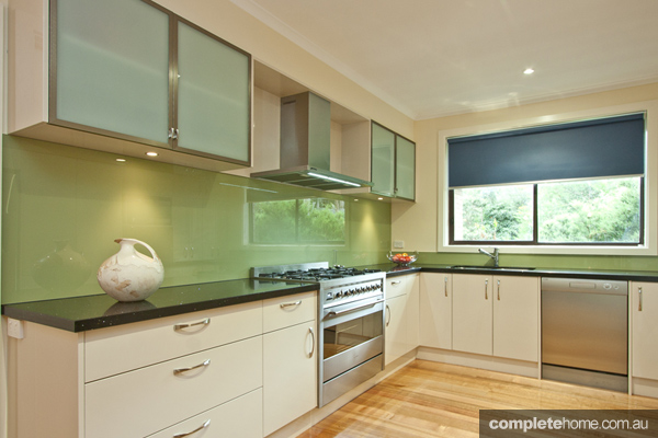 Laid Back Green Kitchen Design Completehome