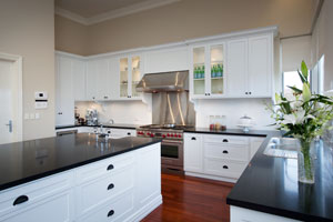 Elegant bliss completehome for Hampton style kitchen handles