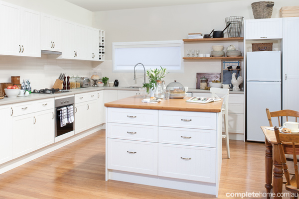 Bunnings Kitchens are perfect if you're looking for a DIY kitchen renovation