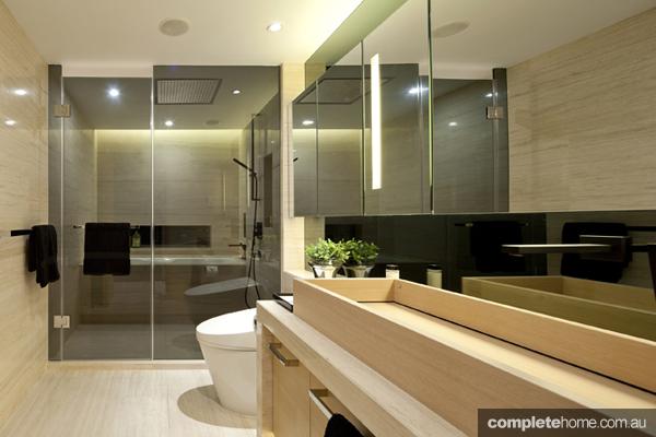 Asian influenced bathroom design by steve leung completehome Kitchen design companies hong kong