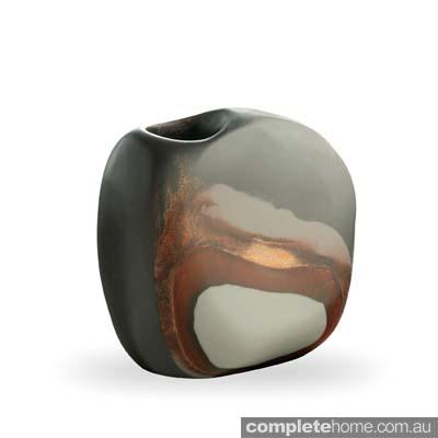 Industrial desert style: Dinosaur Designs vase