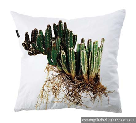 Industrial desert style: Cactus pillow